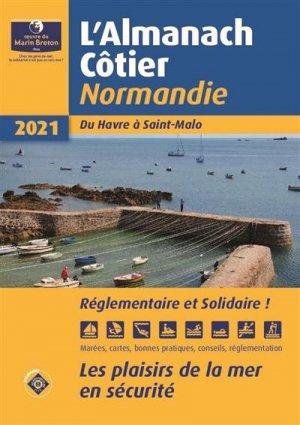 Almanach côtier Normandie 2021 - oeuvres du marin breton - 9782902855674 -
