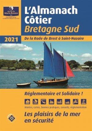 Almanach côtier Bretagne Sud 2021 - oeuvres du marin breton - 9782902855698 -