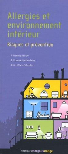 Allergie et environnement intérieur - margaux orange - 9782914206167 -