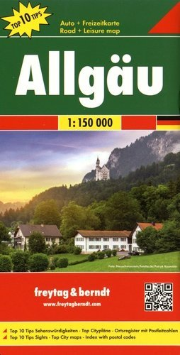 Allgäu. 1/150 000 - Freytag and Berndt - 9783707904482 -