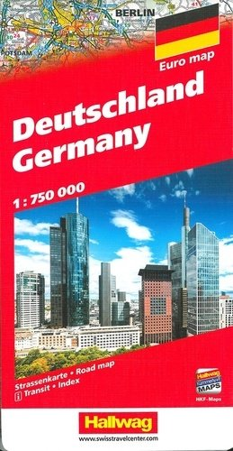 Allemagne.. 1/700 000 - Hallwag International - 9783828309043 -