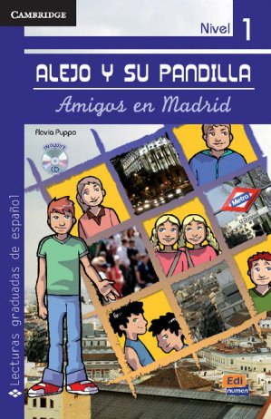Alejo y su pandilla Nivel 1 - Amigos en Madrid + CD - cambridge - 9788498481716 -