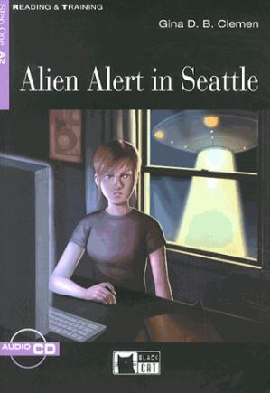 Alien Alert in Seattle - black cat - cideb - 9788853009586 -