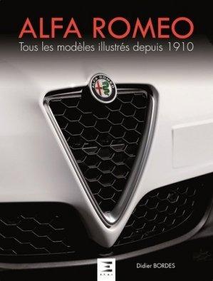 Alfa Roméo - etai - editions techniques pour l'automobile et l'industrie - 9791028301620 -