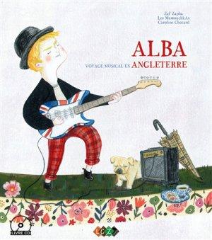 Alba, voyage musical en Angleterre - lacaza musique - 9791094193143 -