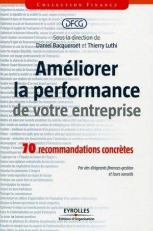Améliorer la performance de votre entreprise - Eyrolles - 9782212552003 -