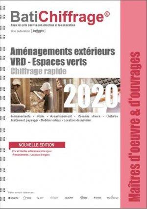 Aménagements extérieurs VRD - Espaces verts - batichiffrage - 9782358061254 -