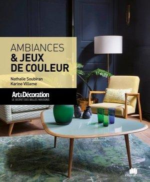 Ambiances & jeux de couleurs - massin - 9782707211774 -