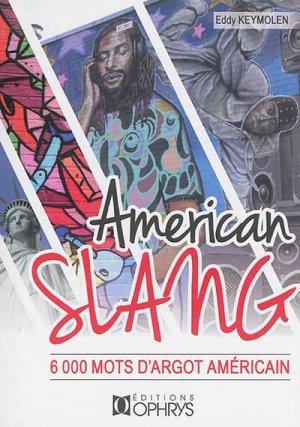 American Slang - ophrys - 9782708014572 -