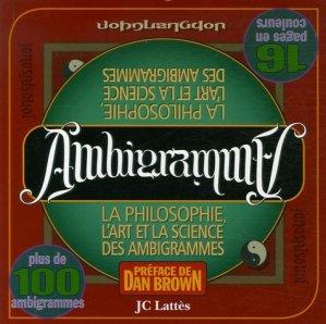 Ambigrammes - Jean-Claude Lattès - 9782709628556 -