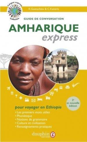 Amharique express - dauphin - 9782716316910 -