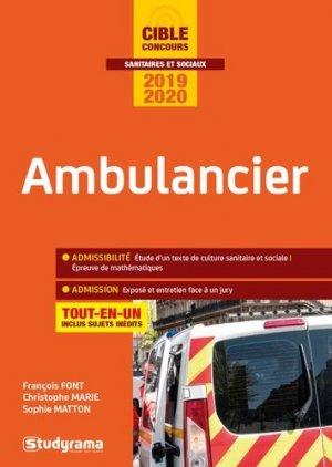 Ambulancier - studyrama - 9782759040285