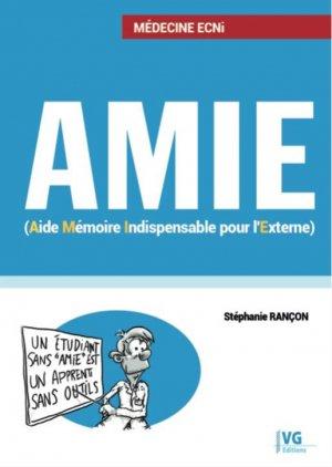AMIE Aide Mémoire Indispensable pour l'Externe - vernazobres grego - 9782818317891 -