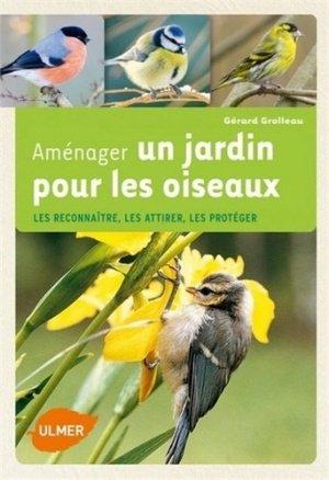 Aménager un jardin pour les oiseaux - ulmer - 9782841384587 - mikbook ecn 2020, mikbook 2021, ecn mikbook 4ème édition, micbook ecn 5ème édition, mikbook feuilleter, mikbook consulter, livre ecn