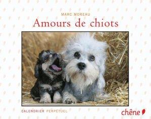 Amours de chiots - du chene - 9782842779634 -