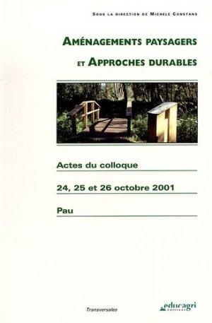 Aménagements paysagers et approches durables - educagri - 9782844442819 -