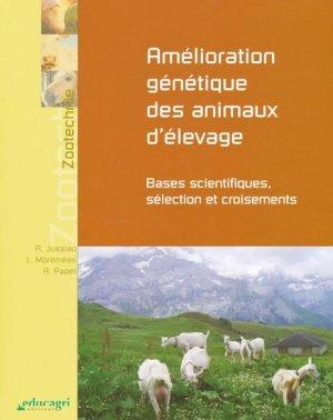 Amélioration génétique des animaux d'élevage - educagri - 9782844444790