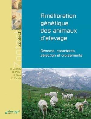 Amélioration génétique des animaux d'élevage - educagri - 9782844449290 -