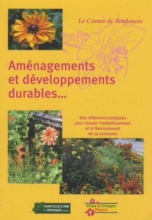 Aménagements et développement durables - horticulture et paysage - 9782917465035 -