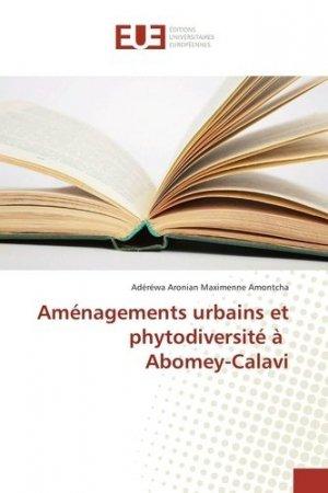 Aménagements urbains et phytodiversité à Abomey-Calavi - universitaires europeennes - 9783659558320 -