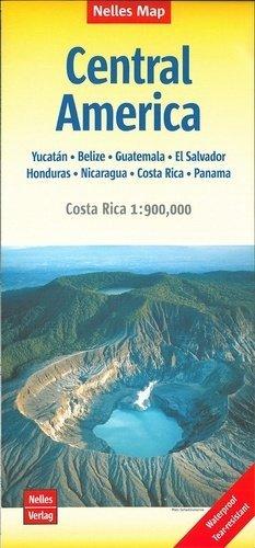 Amérique centrale. 1/1 750 000 ; 1/900 000 - Editions Nelles - 9783865745309 -