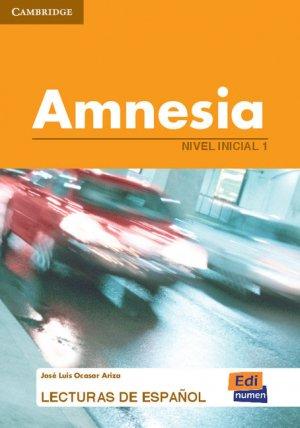 Amnesia - Nivel Inicial 1 - cambridge - 9788489756724