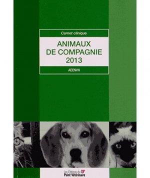 Animaux de compagnie 2013 - du point veterinaire - 2302863263256 -