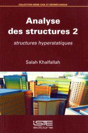 Analyse des structures 2 - iste - 9781784054984 -