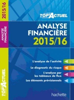Analyse financière - Hachette Education - 9782012707863 -