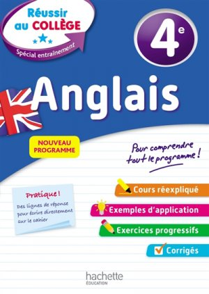 Anglais 4e - hachette - 9782017081289 -