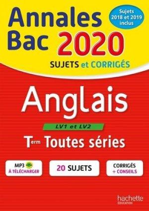 Anglais Tle - hachette - 9782017082903 -