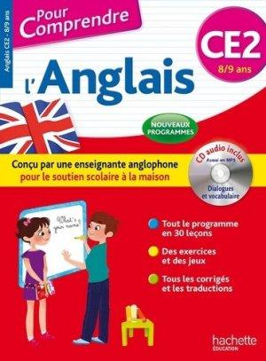Anglais CE2 - Hachette Education - 9782019104313 -