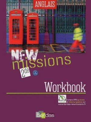 Anglais 2e New missions - bordas - 9782047331309 -