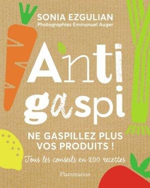 Anti-gaspi - Flammarion - 9782081408470 -