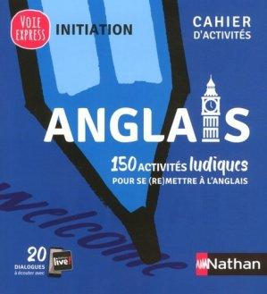 Anglais - cahier d'activités - initiation 2019 - nathan - 9782091653044 -