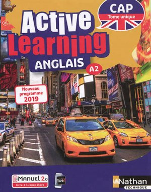 Anglais CAP A2 Active Learning - nathan - 9782091653891