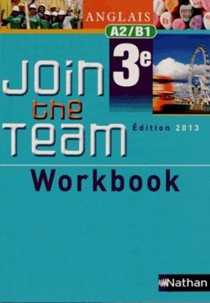 Anglais 3e Join the Team A2/B1 - Nathan - 9782091737645 -