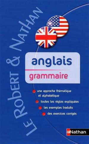 Anglais grammaire - Nathan - 9782091844671 -