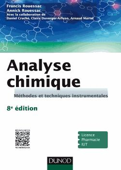 Analyse chimique - dunod - 9782100746880 -