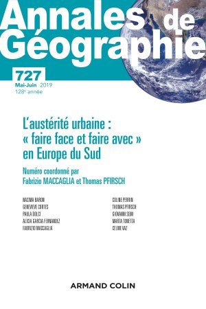 Annales de géographie - armand colin - 9782200932183