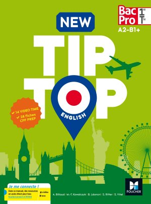 Anglais 1re/Tle Bac Pro New TipTop - foucher - 9782216145423 -