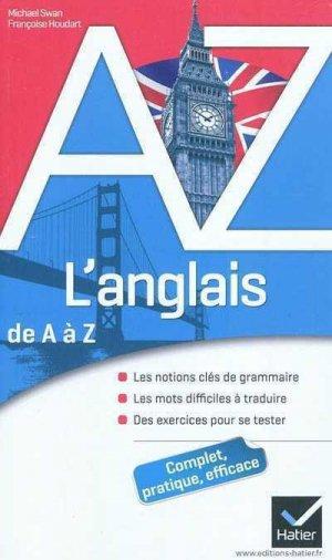 L'anglais de A à Z - Hatier - 9782218947322 -
