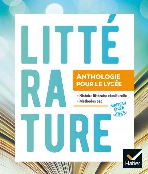 Anthologie Lycée - Français 2de - hatier - 9782218986772 -