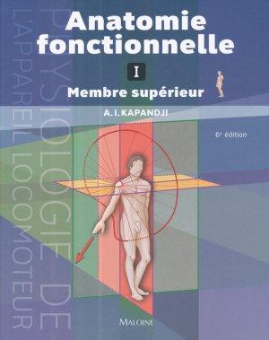 Anatomie fonctionnelle 1 - maloine - 9782224026479 -