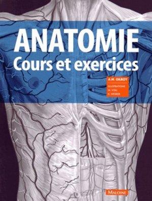 Anatomie - maloine - 9782224033880 -