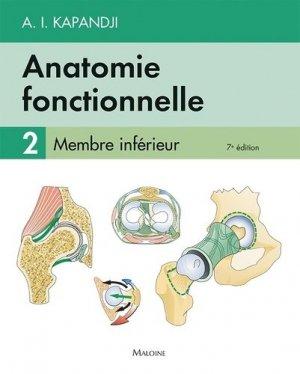 Anatomie fonctionnelle 2 - maloine - 9782224034955 -