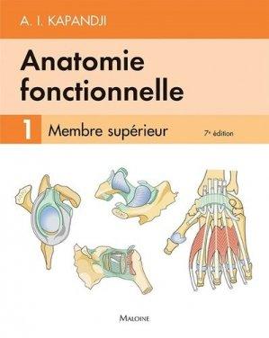 Anatomie fonctionnelle 1 - maloine - 9782224035419 -