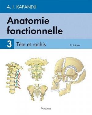 Anatomie fonctionnelle 3 - maloine - 9782224035426 -