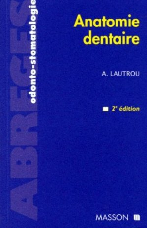 Anatomie dentaire - elsevier / masson - 9782225835162