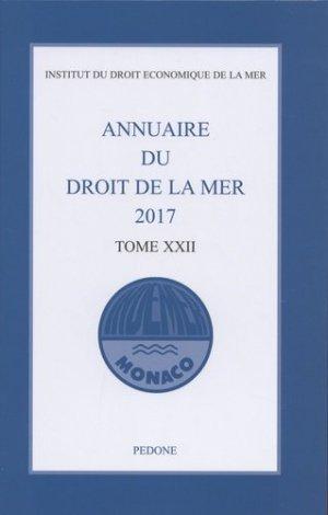 Annuaire du droit de la mer. Tome 22, Edition 2017 - pedone - 9782233008954 -